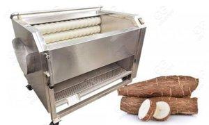 Máy rửa củ quả, máy rửa khoai lang, cà rốt, khoai tây