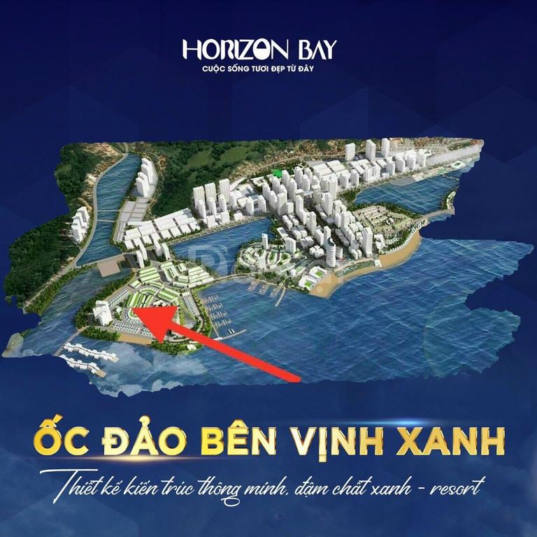 Chính thức nhận booking 318 căn shophouse mặt vịnh kỳ quan Horizon Bay