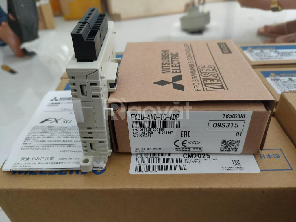 Module FX3U-4AD-TC-ADP, Mitsubishi, Cty Hoàng Anh Phương