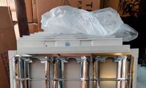 Máng đèn led máng xương cá âm trần 600x600 giá rẻ