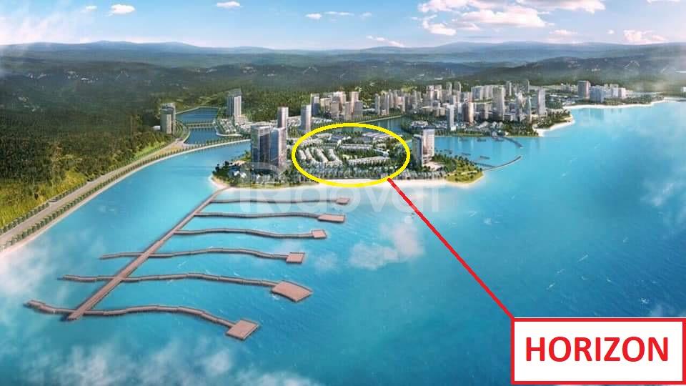 Shophouse mặt biển Horizon Hạ Long sở hữu vĩnh viễn xây 5 tầng DT 90m2