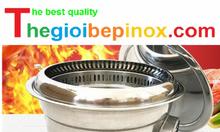 Bán bếp nướng than hoa hút âm BBQ