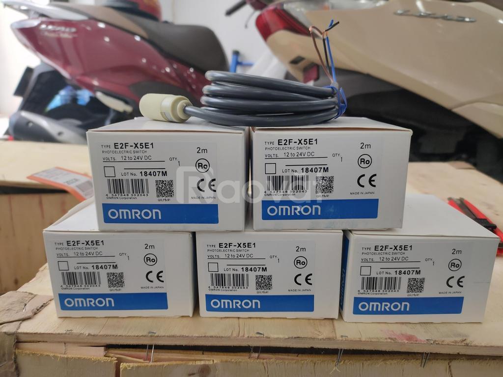 Cảm biến tiệm cận Omron E2F-X5E1 chính hãng giá rẻ