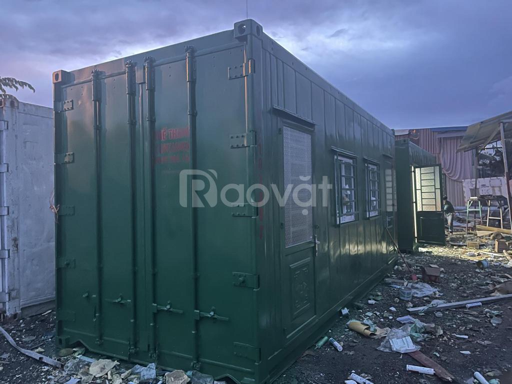 Container văn phòng 20 feet sơn mới