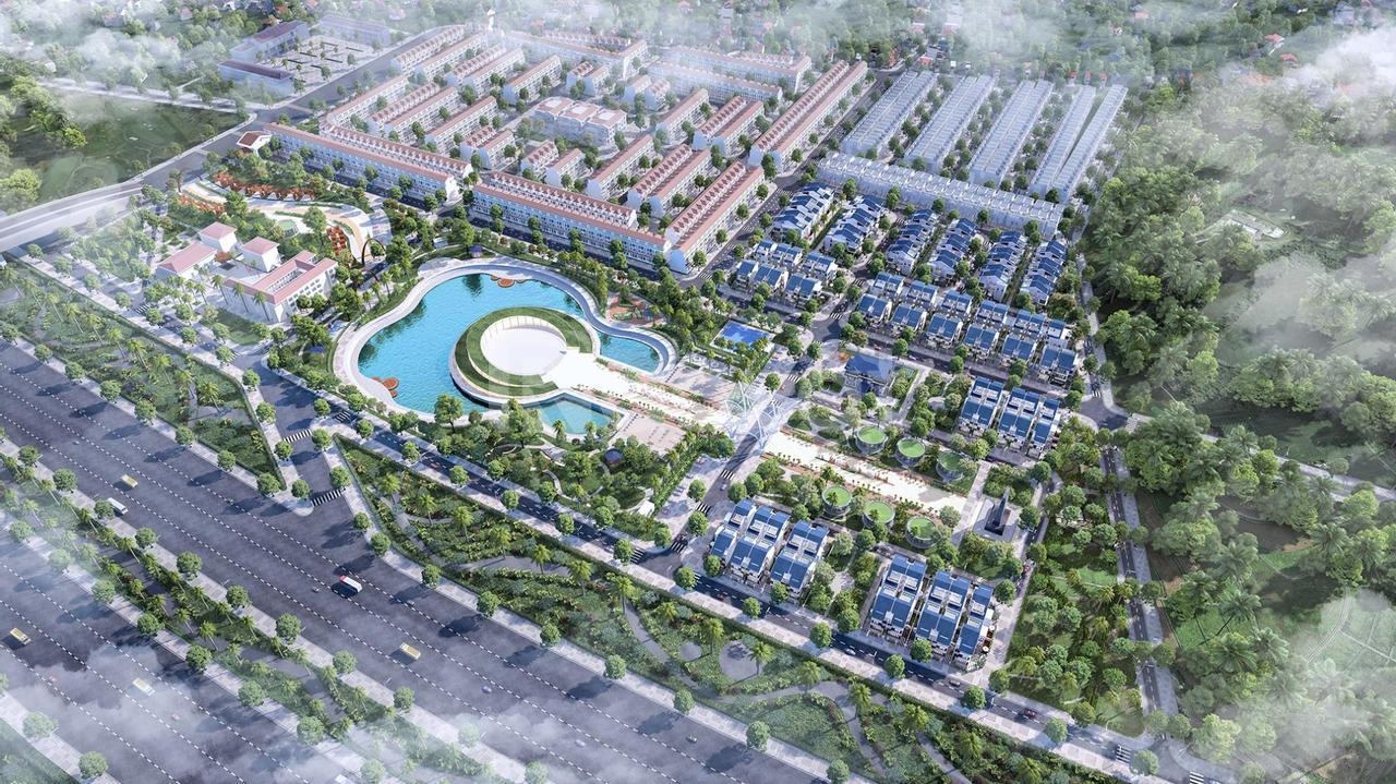 Bán gấp biệt thự khu đông thị Dương Nội, Sol lake Hà Đông