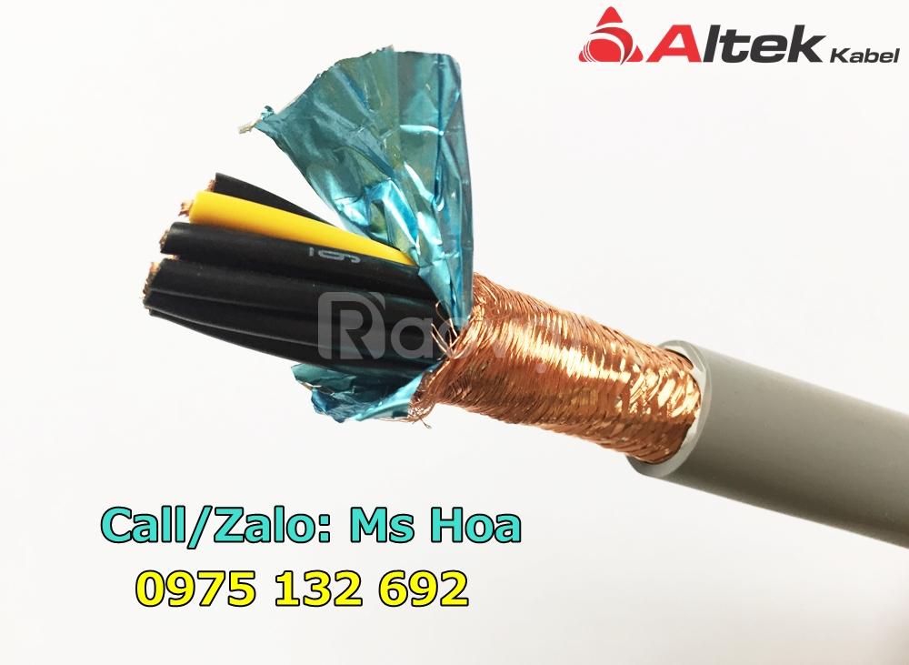 Cáp điều khiển 20 lõi 20x0.5, 20x0.75, 20x1.0, 20x1.5mm2, cáp tín hiệu