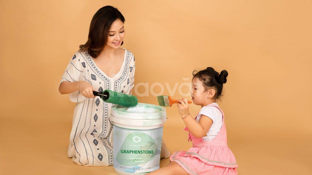 Sơn sinh thái chuyên dụng Nano Bạc Graphenstione GrafClean Ag+ Premium
