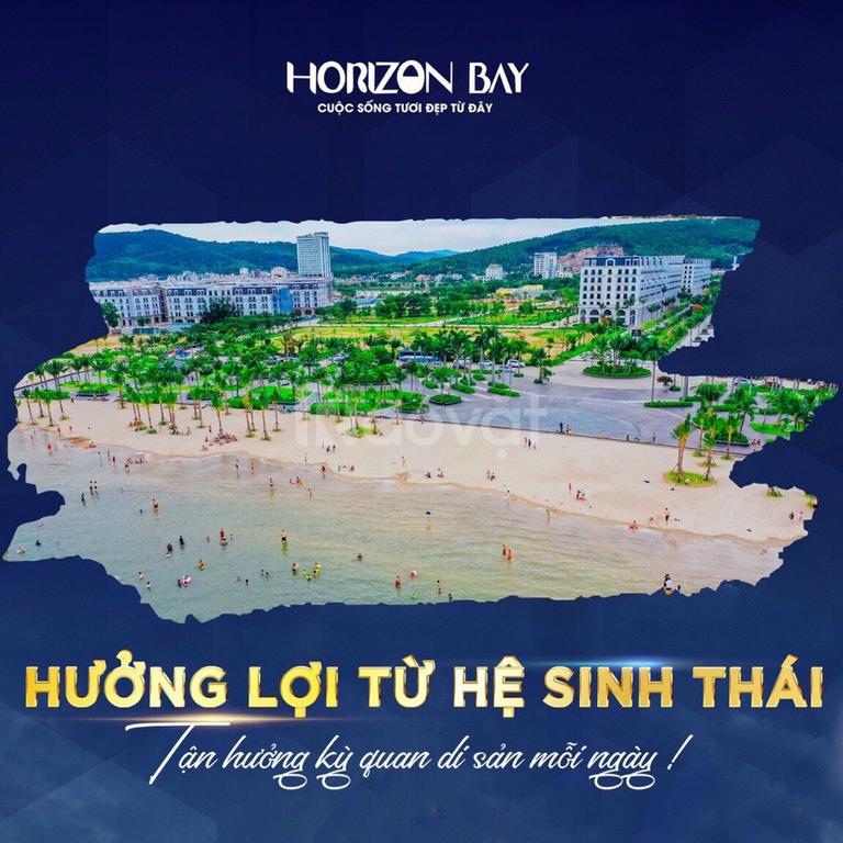 Shophouse mặt vịnh Horizon Bay 5 tầng HTLS 0%, 24 tháng sở hữu lâu dài