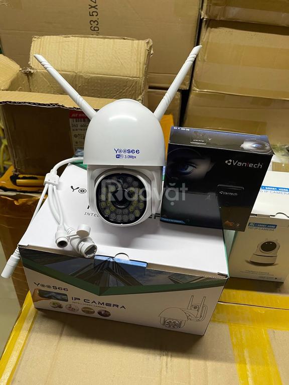 Camera yoosee PTZ 3.0 đi kèm thẻ nhớ 64gb