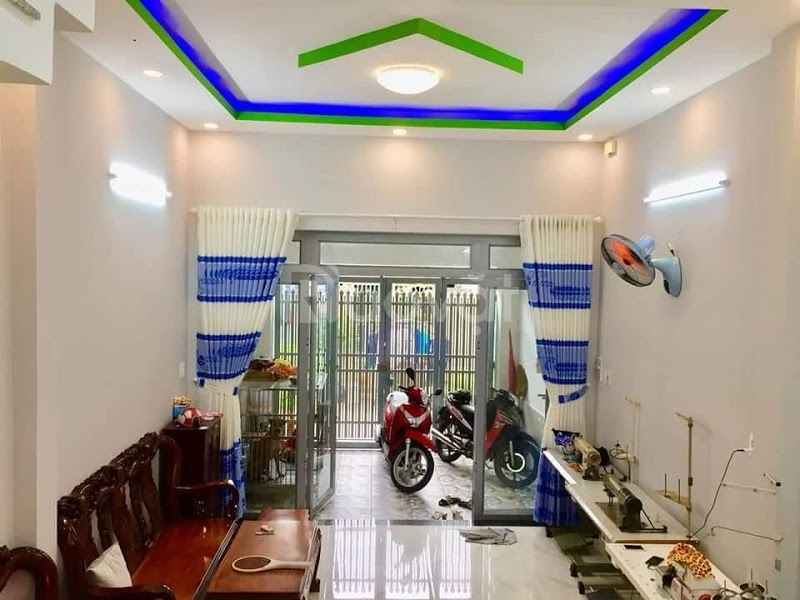 Nhà hẽm đường Quốc lộ 1A, Bình Hưng Hoà B, Bình Tân giá rẻ