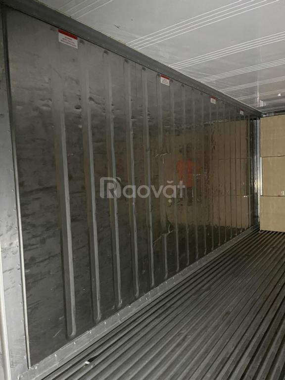 Container lạnh chứa rau củ quả tại TP HCM