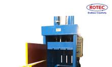 Máy ép kiện đứng, giải pháp hiệu quả cho vận chuyển và thu gom rác TH