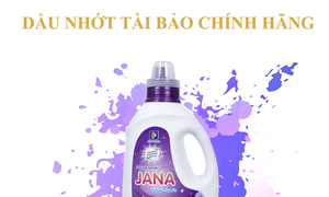 Nước giặt cao cấp Petrolimex Jana White chính hãng, bình 2kg