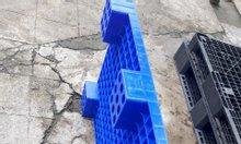 Pallet nhựa, nhựa nguyên sinh, nâng hàng, pallet lót sàn