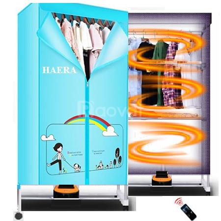 Máy sấy quần áo HAERA Nhật Bản khung chắc, bền, diệt khuẩn