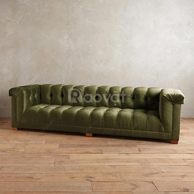 Sofa văng phòng khách GD283 tân cổ điển