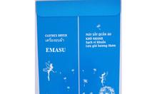 Máy sấy quần áo Emasu Nhật Bản JEG-1106 bán chạy mọi mùa mưa