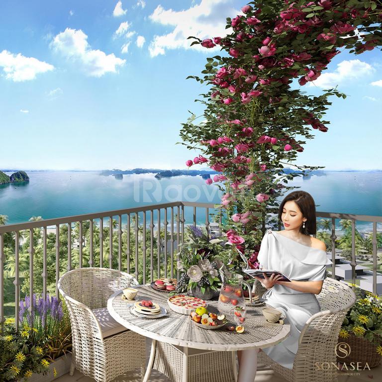 Shophouse 6 tầng mặt biển Vân Đồn sở hữu lâu dài Q.mô 358ha đường 44m