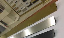 Nẹp nhôm T15 inox 304, xử lý khe hở, khe nứt, tạo điểm nhấn