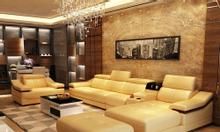 Bộ sofa góc L GD16 cho phòng khách thanh lịch