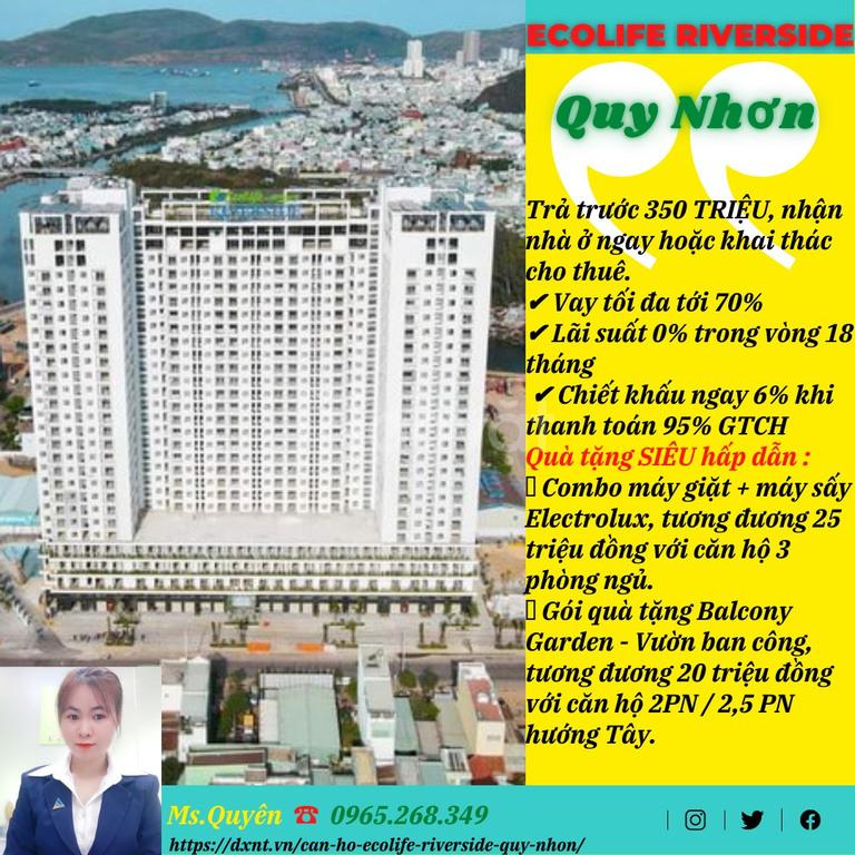 Chung cư giá rẻ Quy Nhơn, từ 350 triệu nhận nhà ở ngay