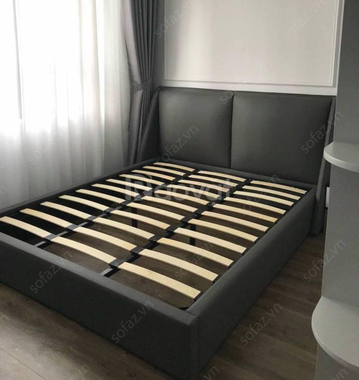 Giường ngủ bọc da 1