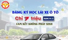 Nhận hồ sơ lái xe ô tô và xe máy