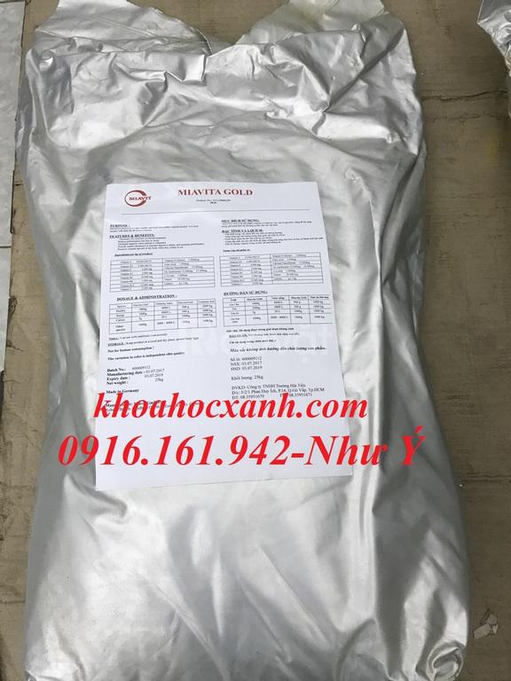 Miavita Gold - vitamin tổng hợp, tăng đề kháng trên tôm