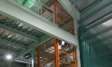 Thang nâng hàng kho xưởng 1000kg, 2000kg