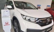 Honda CRV G 2021 giảm giá mạnh, hỗ trợ vay trả góp 80% giá trị xe