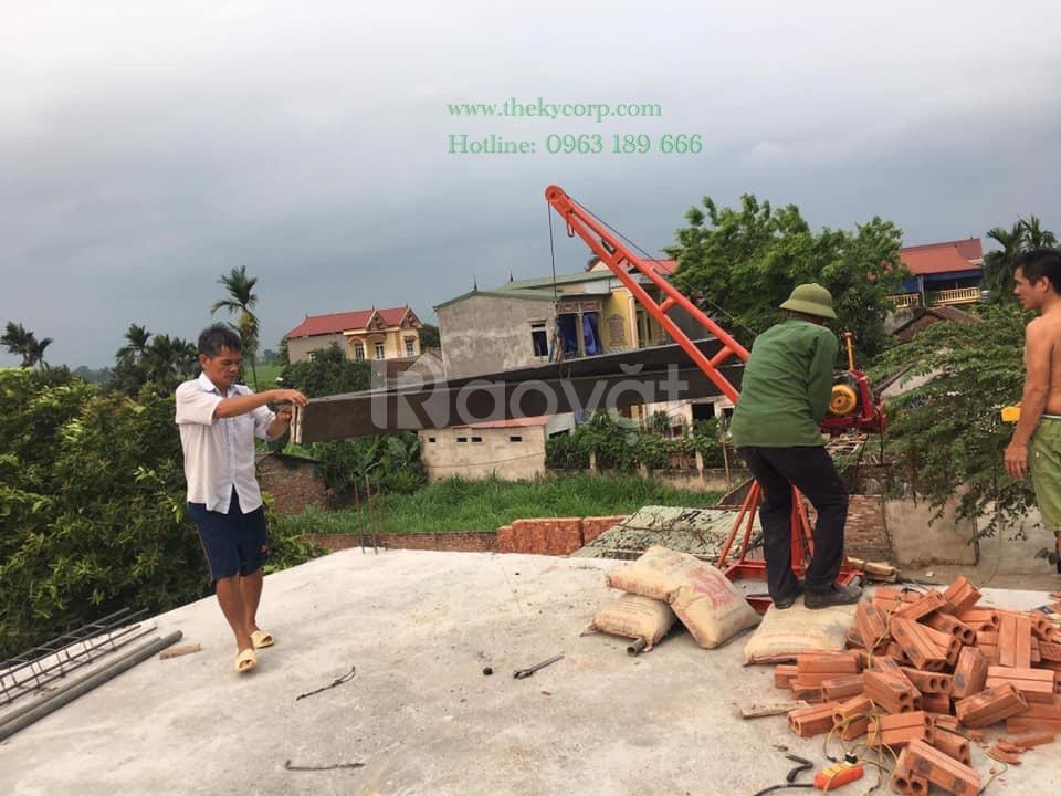 Tời xây dựng quay 360 tại TP HCM