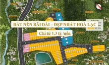 Mở bán 70 lô đất nền đường Bãi Dài Hòa Lạc - cạnh Xanh Villas