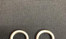 Khoen chữ D, khoen bán nguyệt, móc sắt D, phụ liệu cho handmade