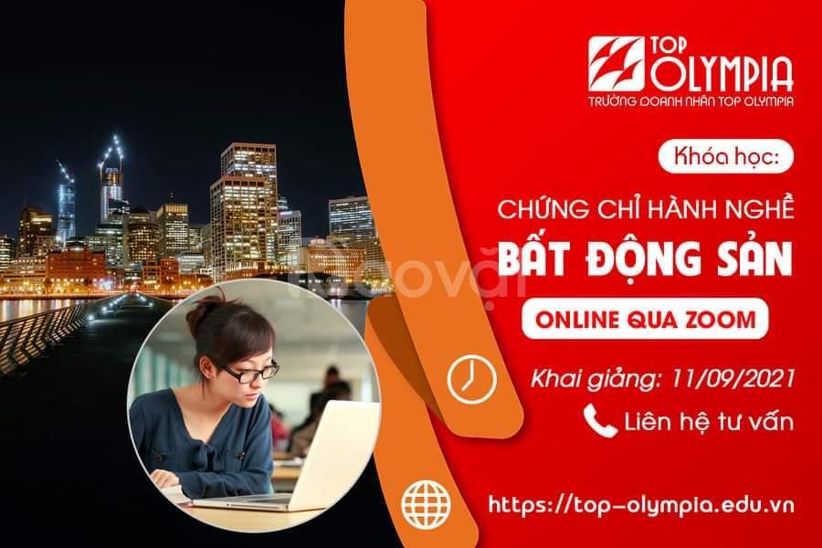 Học chứng chỉ BĐS online tại Đà Nẵng