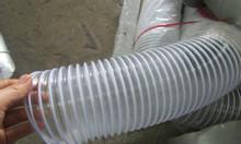 Ống hút bụi nhựa PVC lõi thép D75, D100, D125, D150, D200