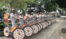 Thuê xe đạp chạy quảng cáo tháng 10/2021