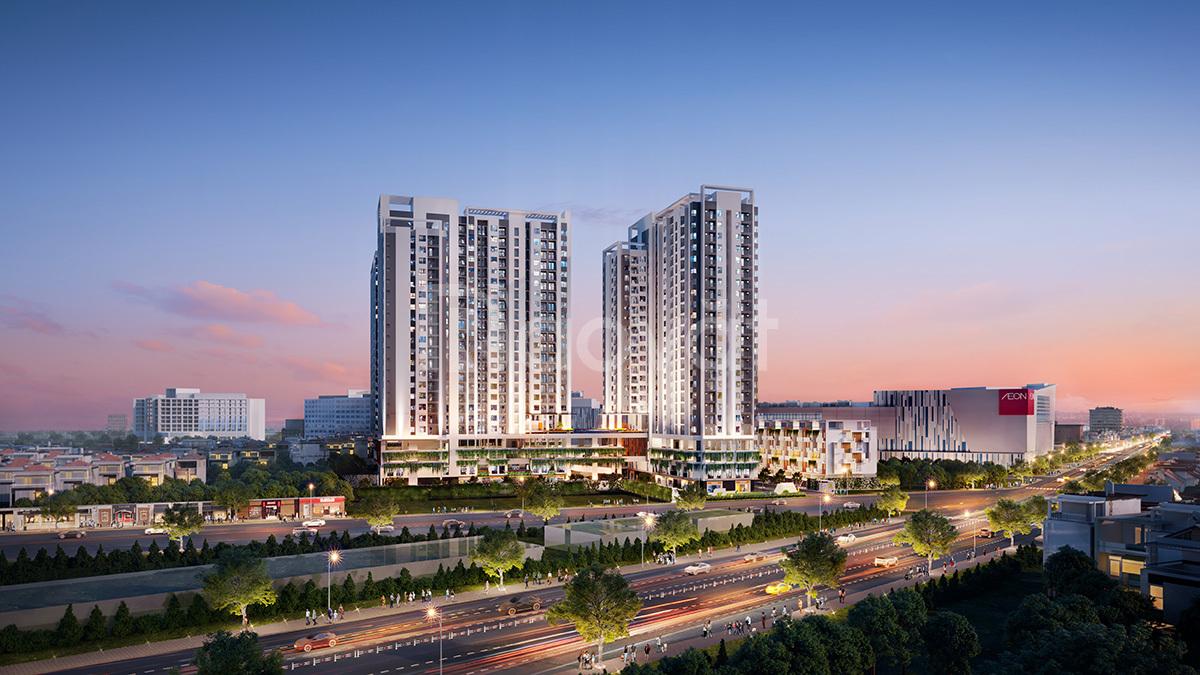 Rổ hàng căn đẹp, căn hộ Moonlight kế bên Aeon Mall Bình Tân