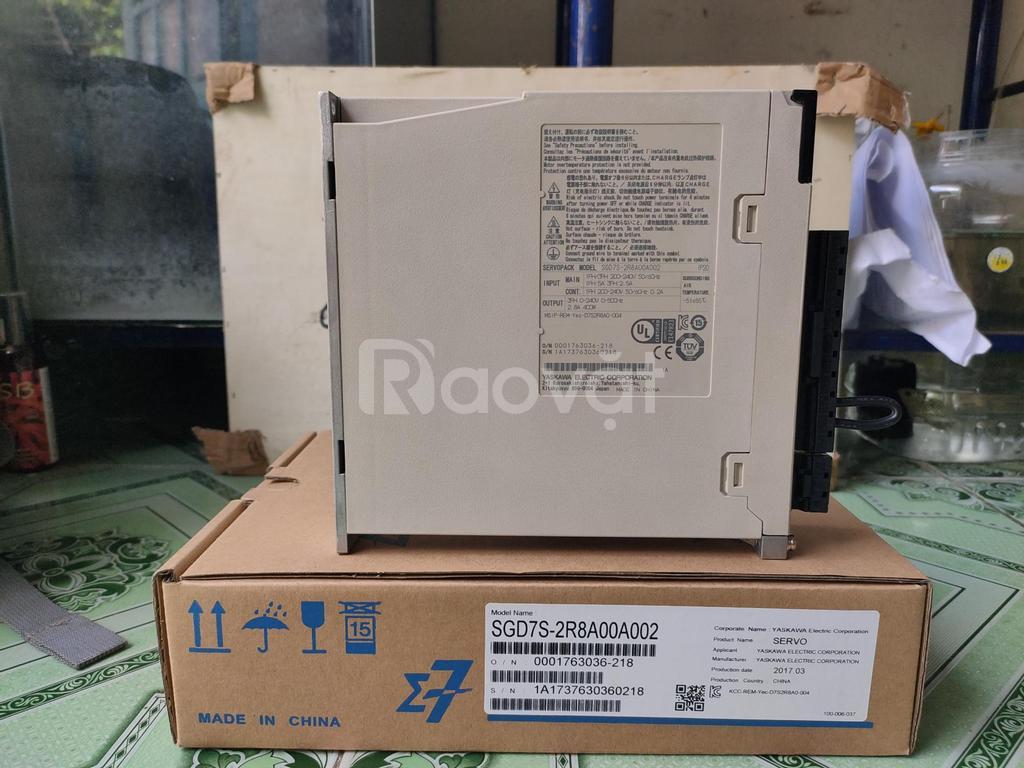 SGD7S-2R8A00A002 bộ điều khiển Yaskawa chính hãng