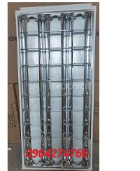 Máng đèn led âm trần xương cá 3 bóng 600x1200