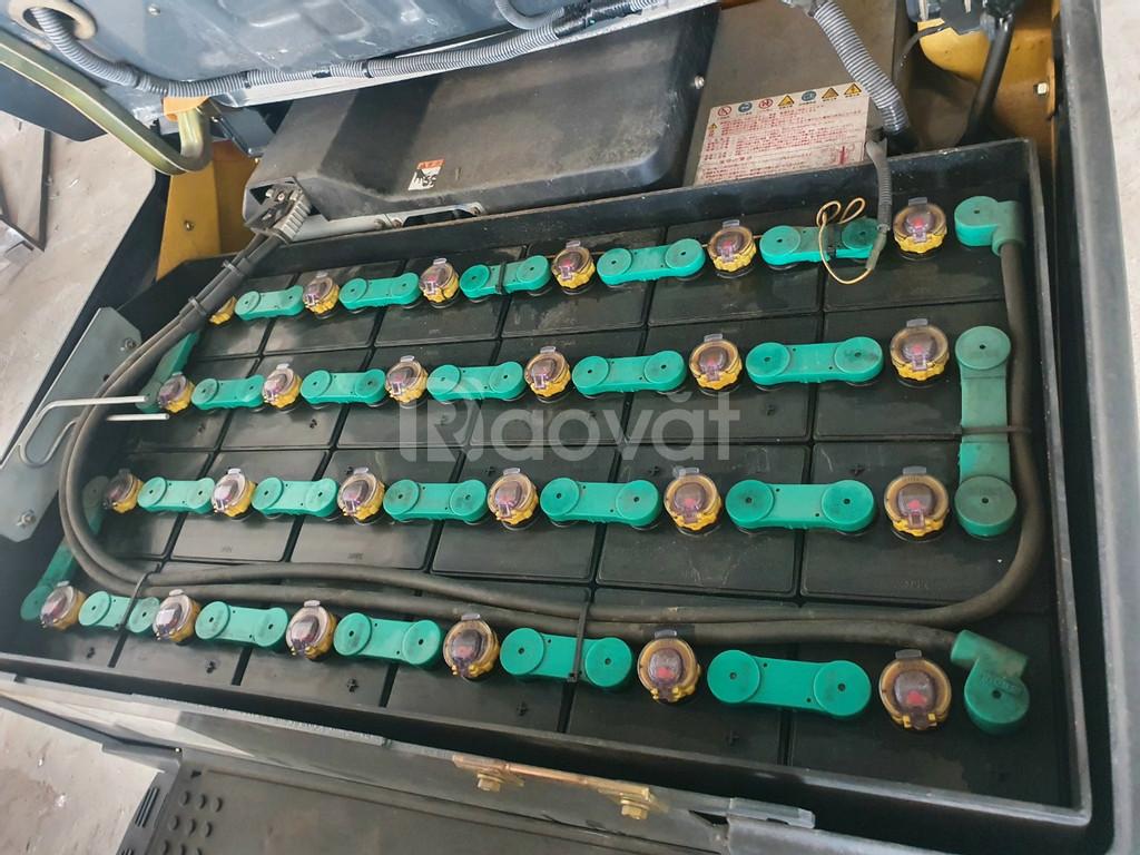 Xe nâng điện Komatsu FB18-12, xe nâng giá tốt mùa dịch
