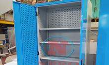 Tủ treo dụng cụ 2 cánh 8 ngăn, tủ treo dụng cụ cơ khí