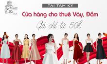 Cửa hàng cho thuê váy, đầm tại Tam Kỳ - Điền Sài Gòn