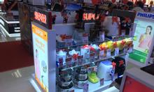Thiết kế hội chợ, showroom, nội thất siêu thị