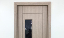 Cửa nhựa giả gỗ ABS Hàn Quốc cho phòng ngủ, thông phòng, nhà vệ sinh