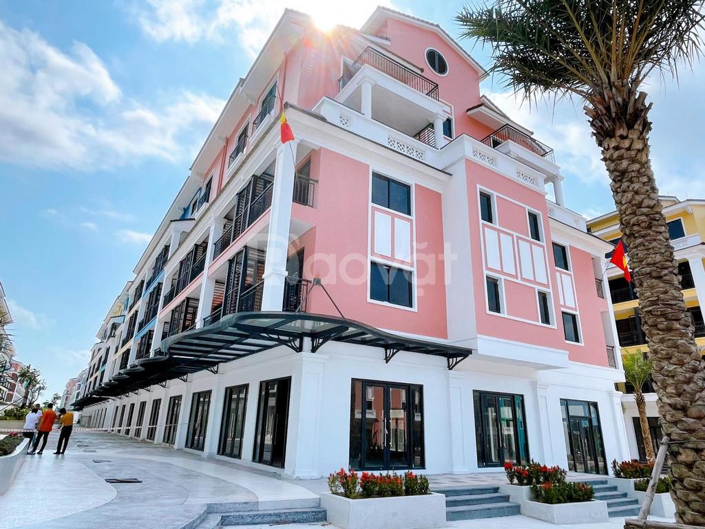 Sonasea Shophouse Vân Đồn 2 mặt tiền xây 6 tầng sở hữu lâu dài