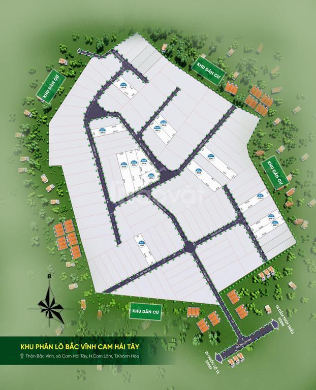 Đất nền Cam Lâm, đất đô thị đầm Thủy Triều, nâng cấp TP Nha Trang