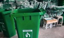 Thùng rác nhựa công nghiệp 60L, 120L, 240L
