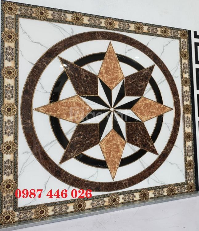 Gạch trang trí điểm nhấn chiếu nghỉ cầu thang HP46978