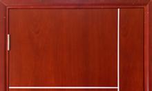 Cửa gỗ công nghiệp MDF Melamine cho phòng ngủ, cửa chính chung cư
