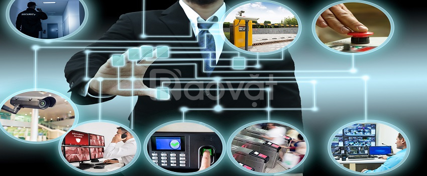 Lắp đặt mạng LAN, camera giám sát, tổng đài điện thoại, máy chấm công